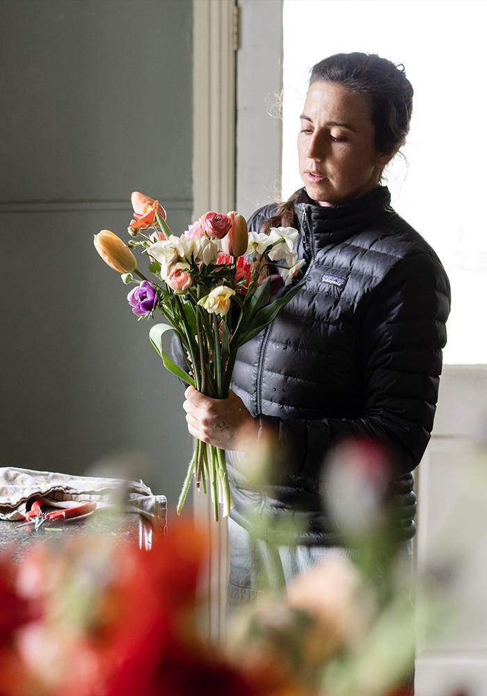 Natalia, właścicielka kwiaciarni - warsztaty florystyczne