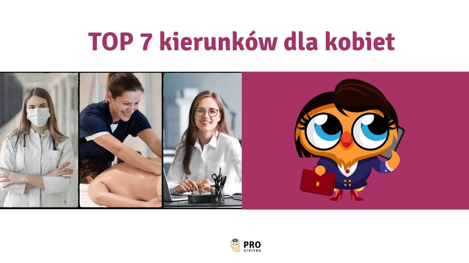 TOP 7 kierunków dla kobiet – przyszłościowe zawody dla mam - PRO Civitas