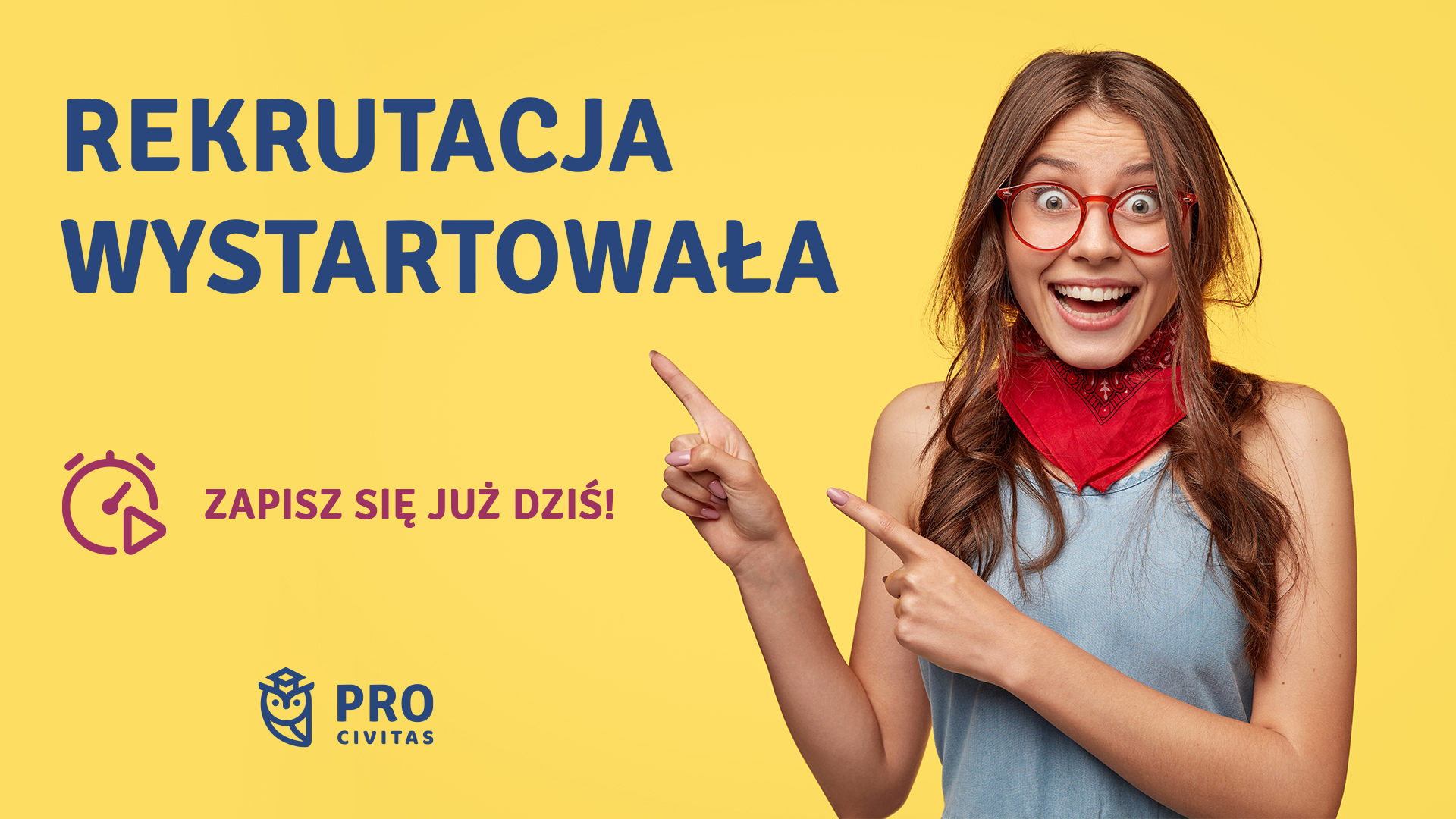 Ruszyła rekrutacja do szkoły policealnej PRO Civitas   NAUKA ZA DARMO